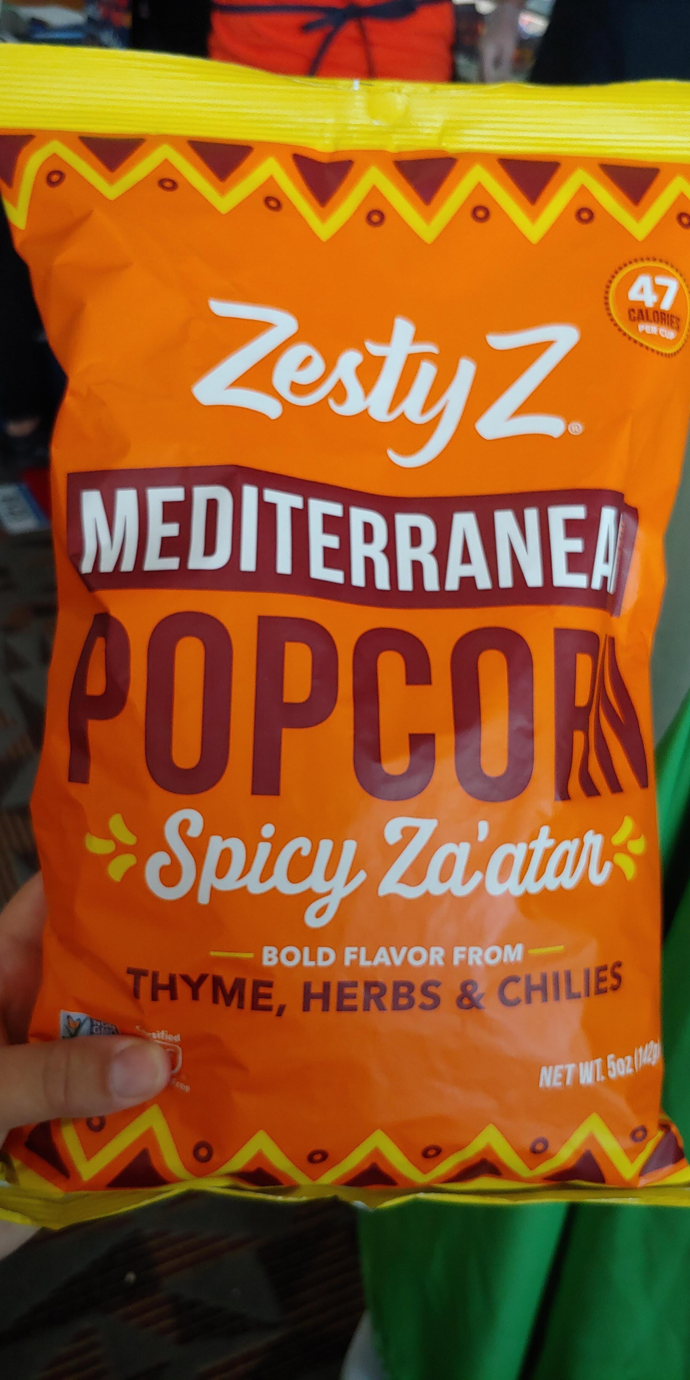 Zatar + popcorn = love