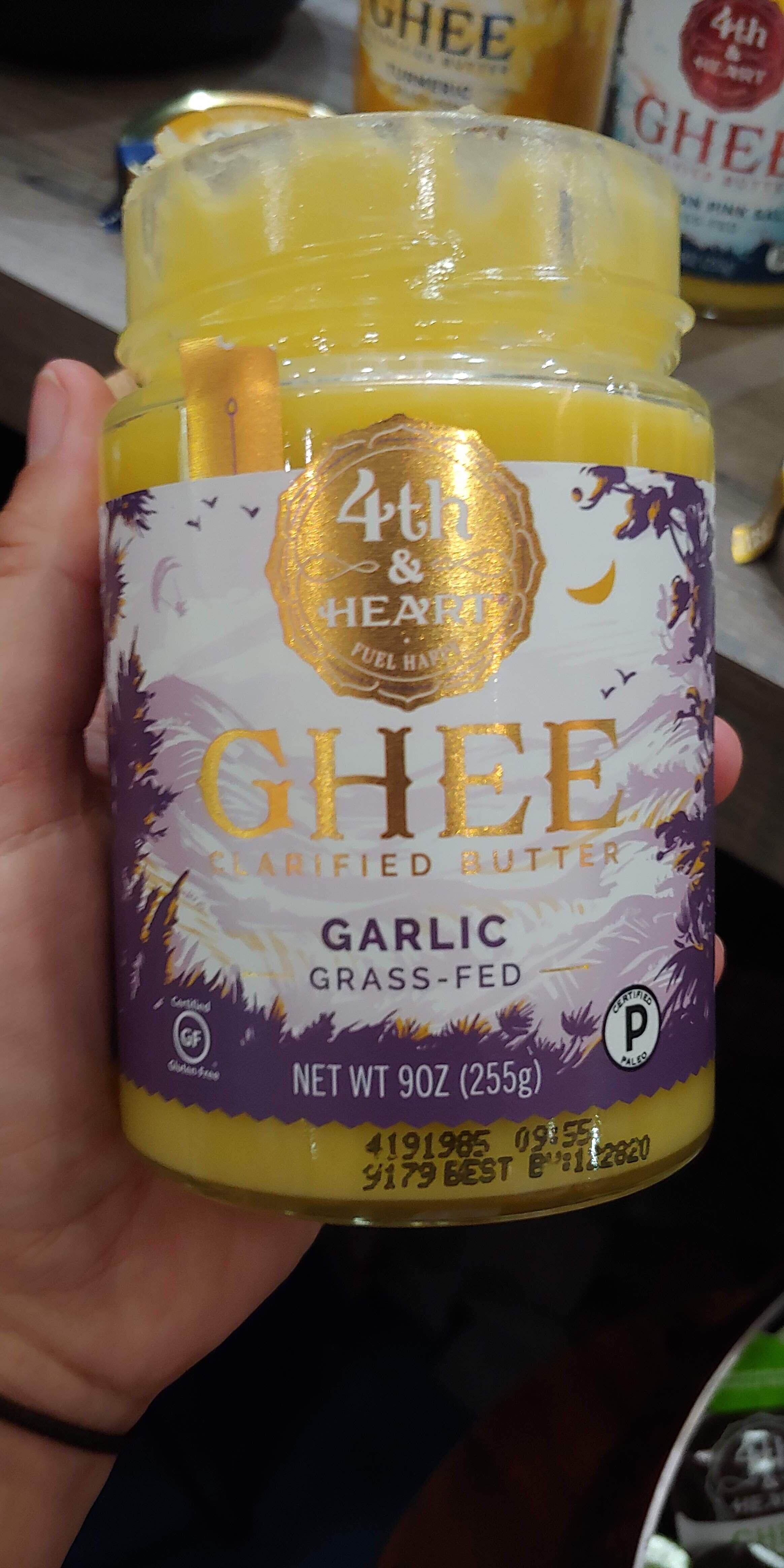 Garlic ghee goodness