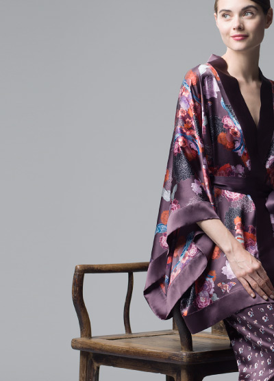 MENG Kimono Side View Campaign Shoot Nightingale Collection