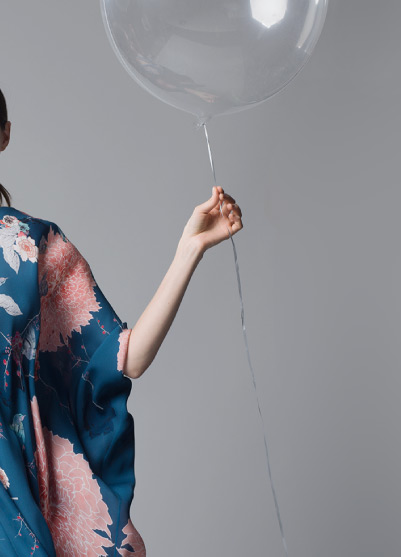 MENG Balloon and Kimono in Campaign Shot