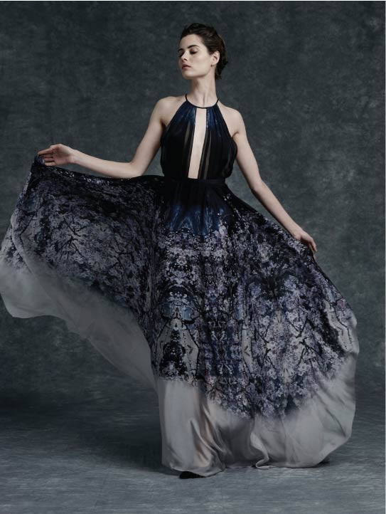 MENG Womenswear Cinderella Collection Campaign Shot Full Length