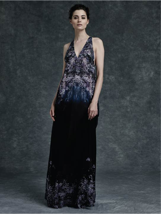 MENG Womenswear Cinderella Collection Campaign Shot Full Length Sleeveless