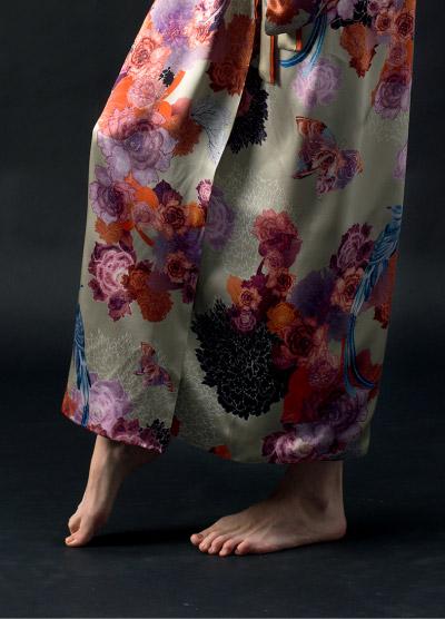 MENG Campaign Shots Floral Kimono Close Up