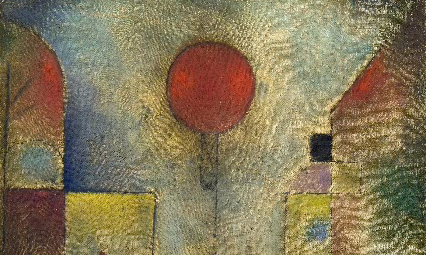 Detail from  The Red Balloon  by Paul Klee, 1922.  Courtesy Solomon R Guggenheim Museum, New York, Wikimedia
