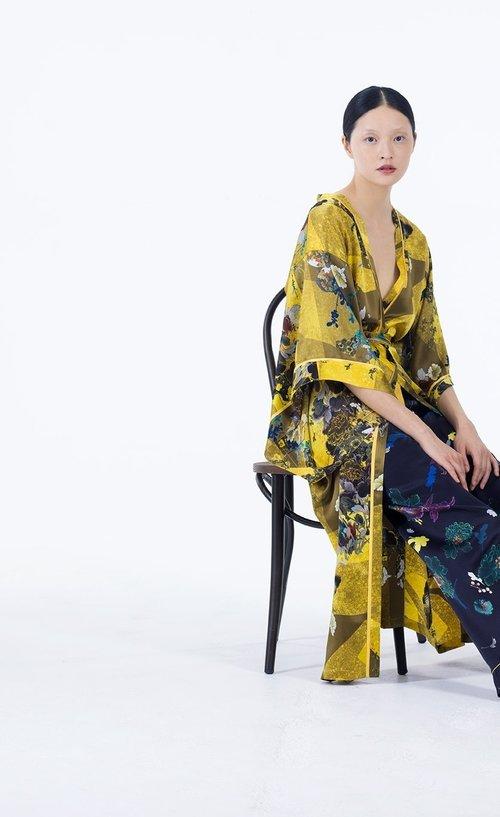 Meng womenswear loungwear luxury silk printed kimono trouser 1-PP.jpg