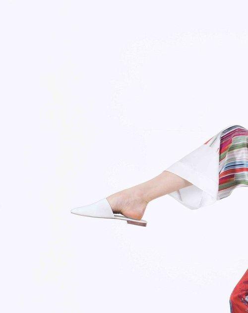 Meng womenswear loungwear luxury silk printed pajama set white stripe 2-PP.jpg