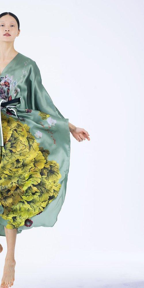 Meng womenswear loungwear luxury silk printed wrap dress kaftan 2-PP.jpg