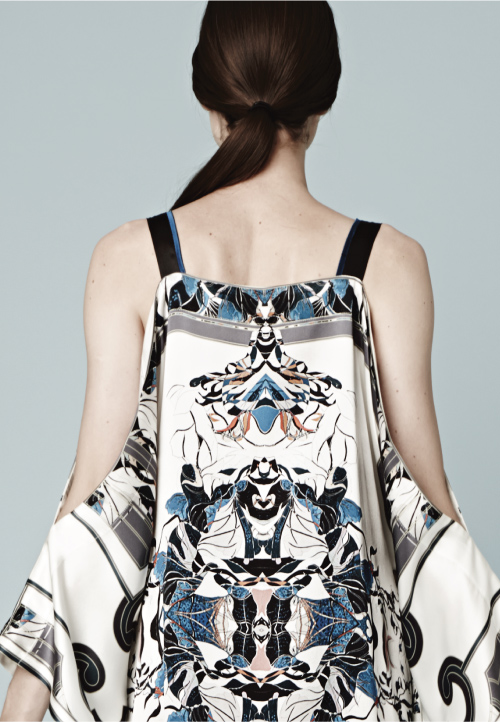 MENG Zodiac Collection Sleeveless Dress Back View