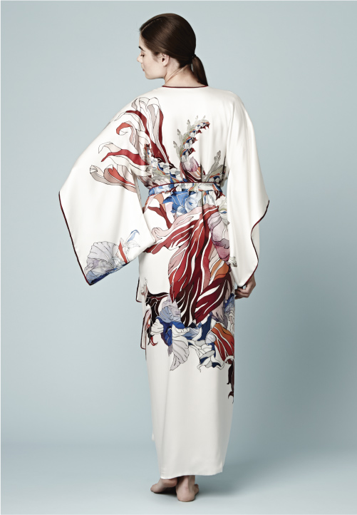 Meng-loungewear-luxury-womenswear-silk-prints-fashion-handdrawn-watercolour-detailed-abstract-9-white-red-kimono.jpg