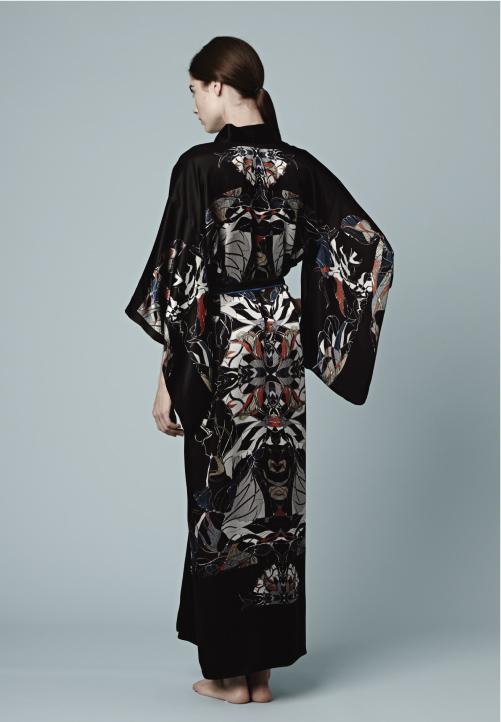 Meng-loungewear-luxury-womenswear-silk-prints-fashion-handdrawn-watercolour-detailed-abstract-12-black-red-kimono.jpg