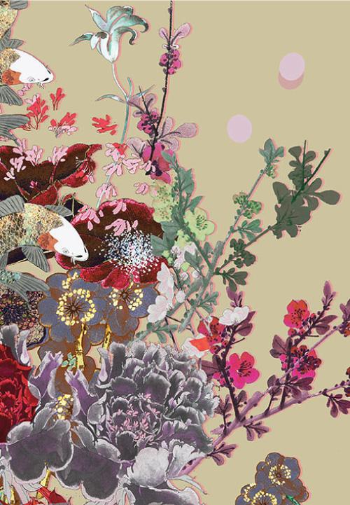 Meng-Womenswear--luxury-Loungewear-print-flowers-gold-pink-LP.jpg