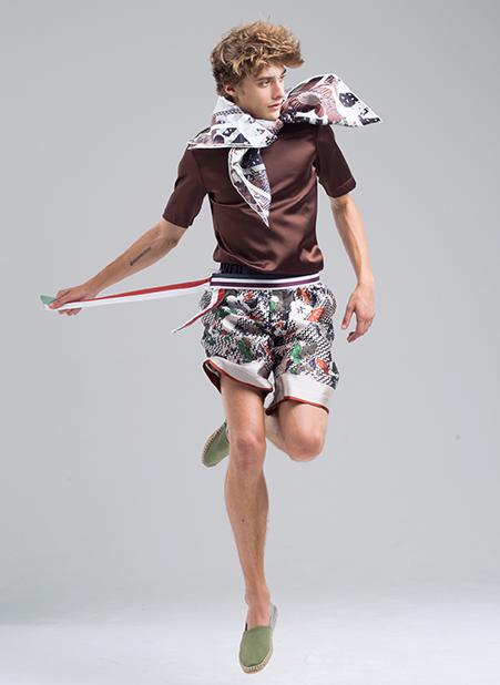 Meng-Loungewear-menswear-luxury-printed-silk-tshirt-shorts-scarfs-brown-white1-fashion.jpg