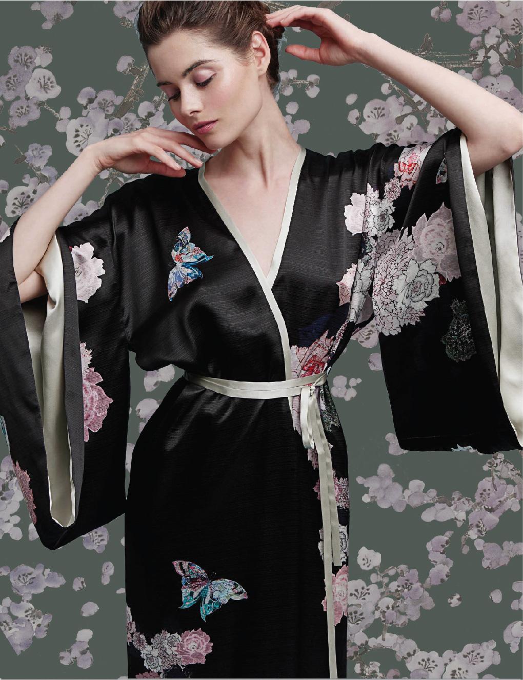 Meng-loungewear-luxury-womenswear-silk-prints-fashion-kimono-handdrawn-bloom-blossom-floral-butterfly-black-pink12.jpg