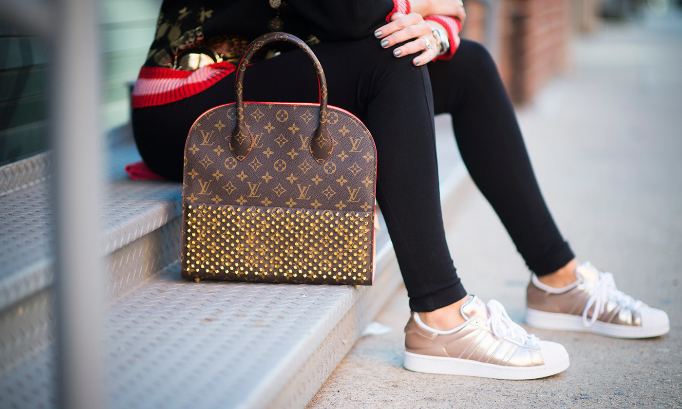 Street style; status brands are no longer the domain of the elite.. Photo by Getty