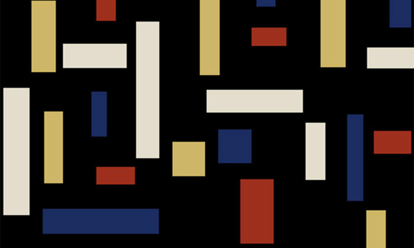 Detail from  Composition VII (The Three Graces)  (1917), by Theo van Doesburg.  Photo courtesy Wikipedia