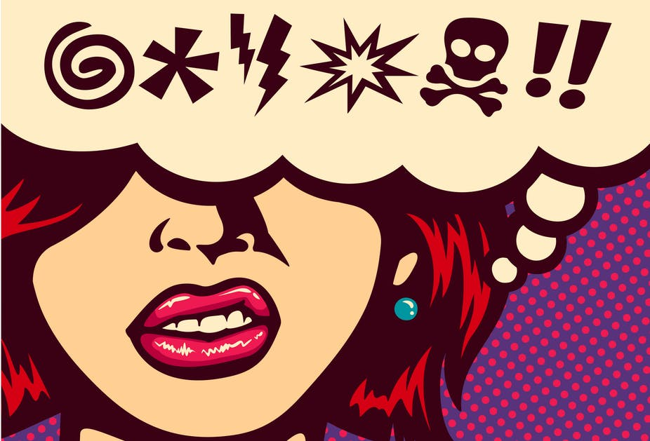 Swearing can come more easily to people in their second language.  durantelallera/Shutterstock