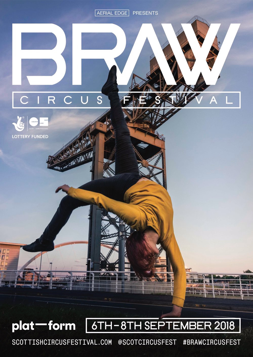 Braw Circus Festival 2018 | Poster design by  Scott MacMichael  | Photo by Richard Walker
