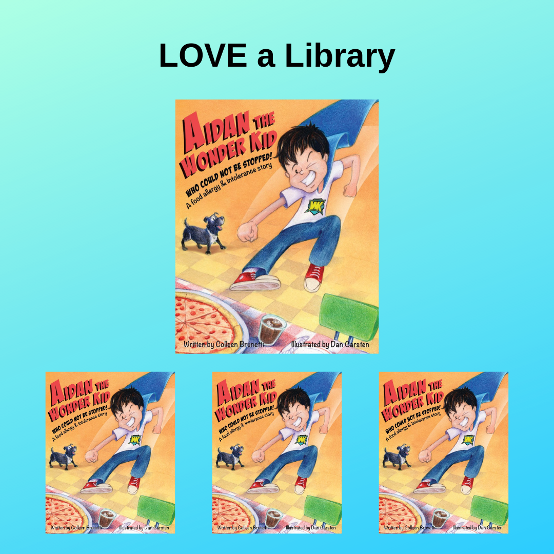 LOVE A LIBRARY: $45   Buy one book for a child, get three more books to donate to the libraries of your choice.   (SAVINGS: $18.96)