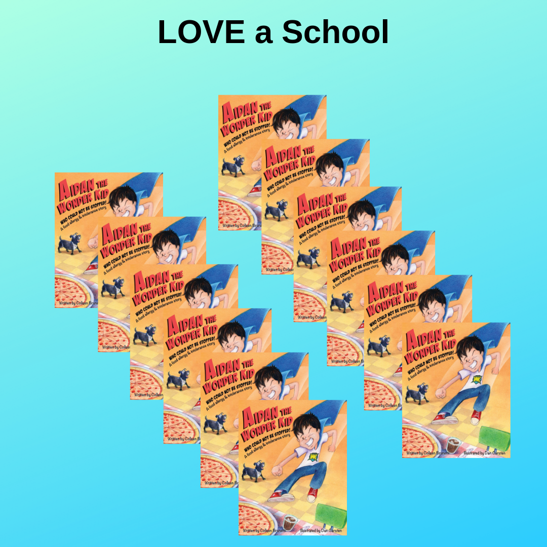 LOVE A SCHOOL: $100   Buy a 10 pack for your school at a steep discount!   (SAVINGS: $59.90)