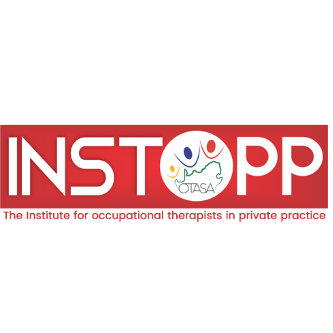 INSTOPP   INSTOPP (Governing Body for Private Practitioners) strives to serve, represent and develop dynamic Occupational Therapists in Private Practice.  INSTOPP are here to: Assist with ethical issues in your practice, General questions regarding private practice, Networking nationally with the OT community, Mentoring clinical challenges and private practice matters  Website:  https://www.instopp.co.za
