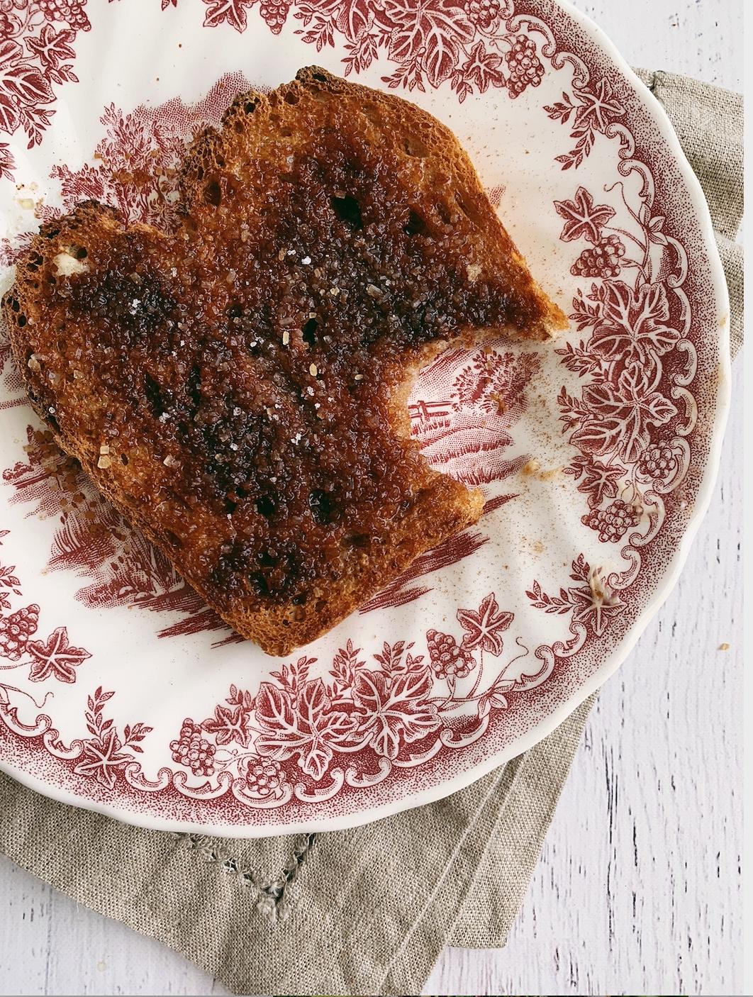 crunchy cinnamon toast