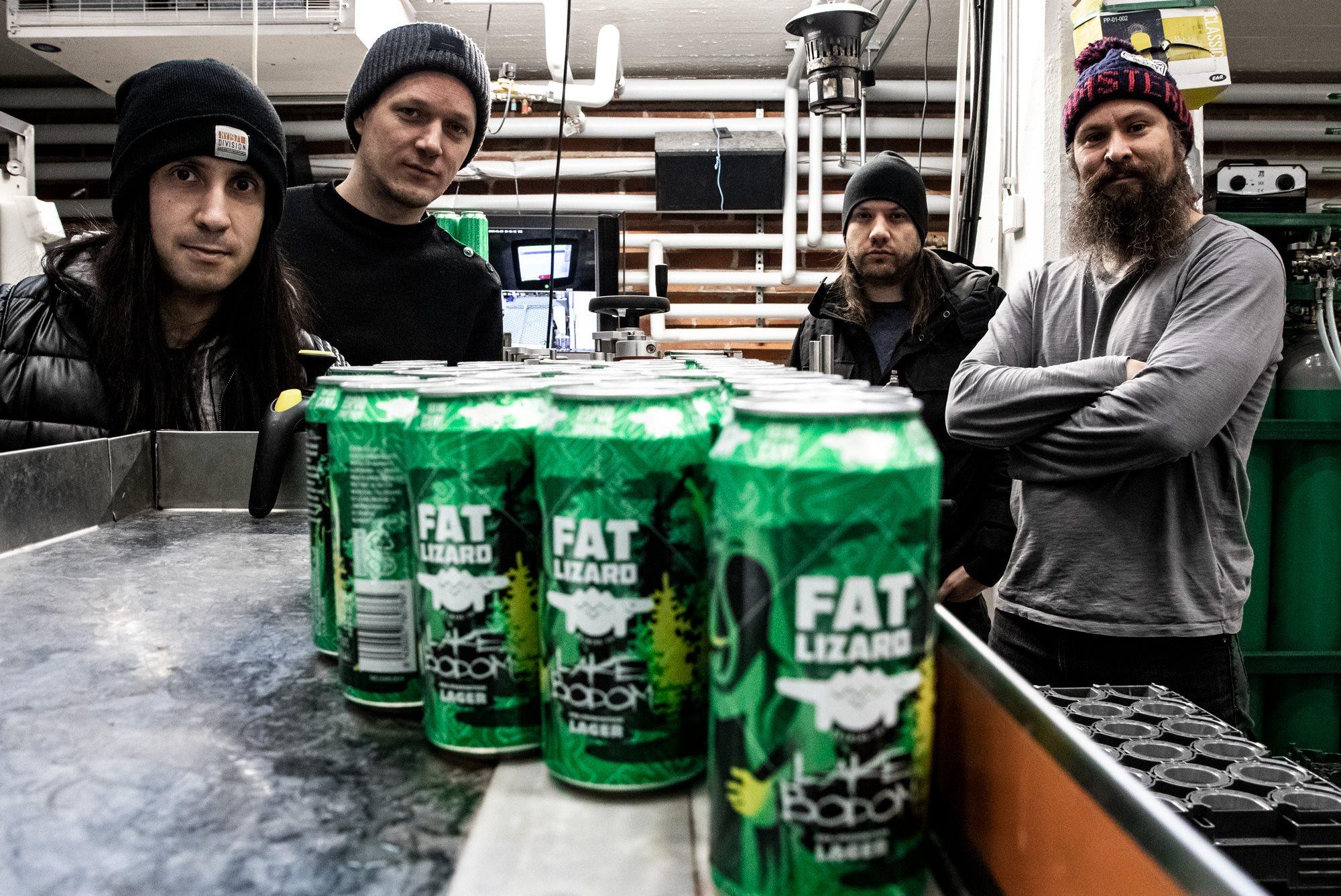 Fat Lizard Lake Bodom Lager