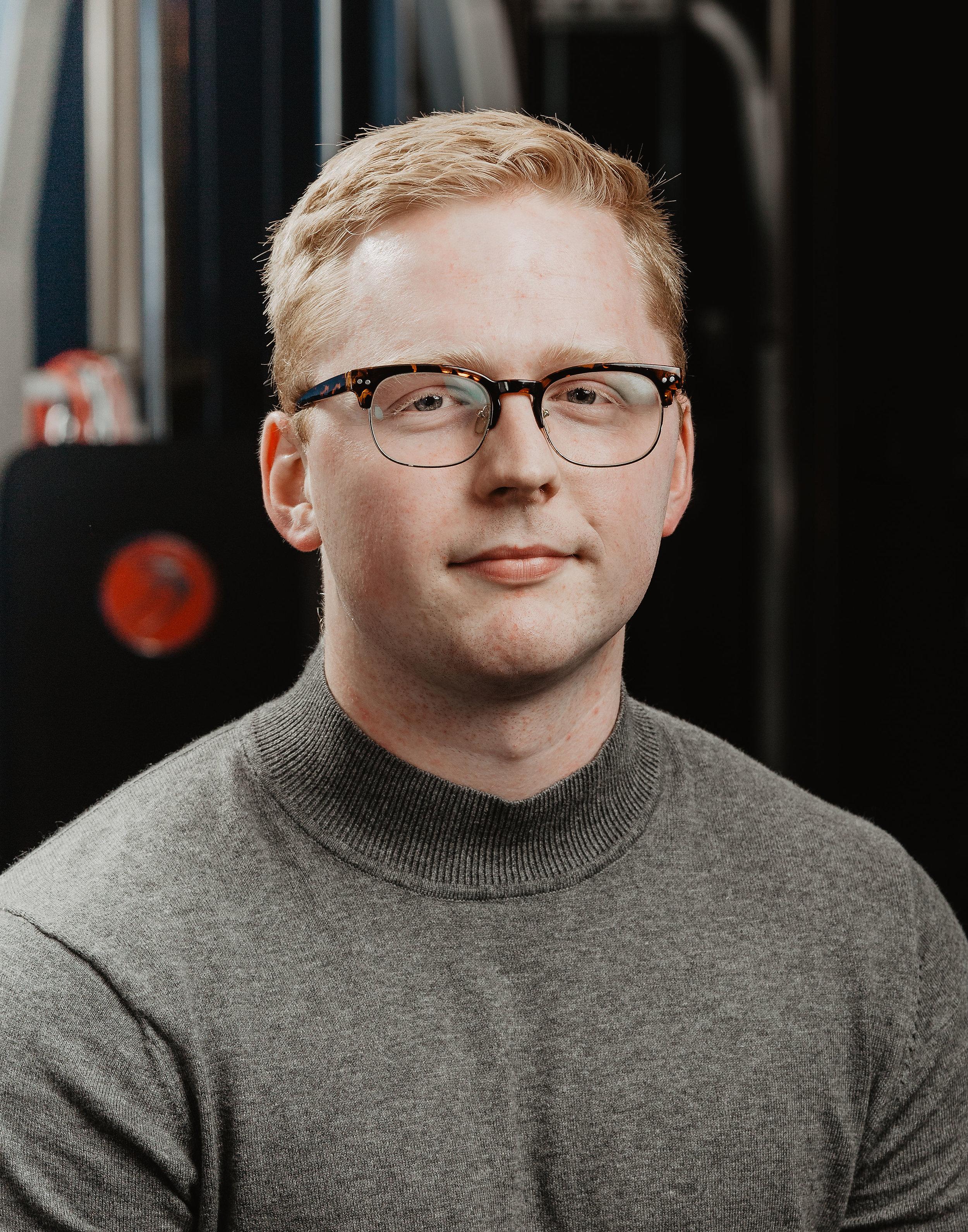 Malcolm Sanderson - Front Desk/Chiro Assistant