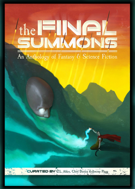 The Final Summons - The Final Summons is a sci-fi and fantasy anthology showcasing 14 brilliant speculative fiction writers. If you like multifaceted characters, mind-bending concepts, and uncharted new worlds, then you'll love this provocative short-story collection. www.thefinalsummons.com