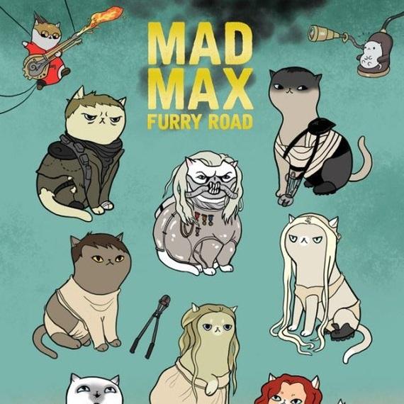 Mad Max Furry Road Print