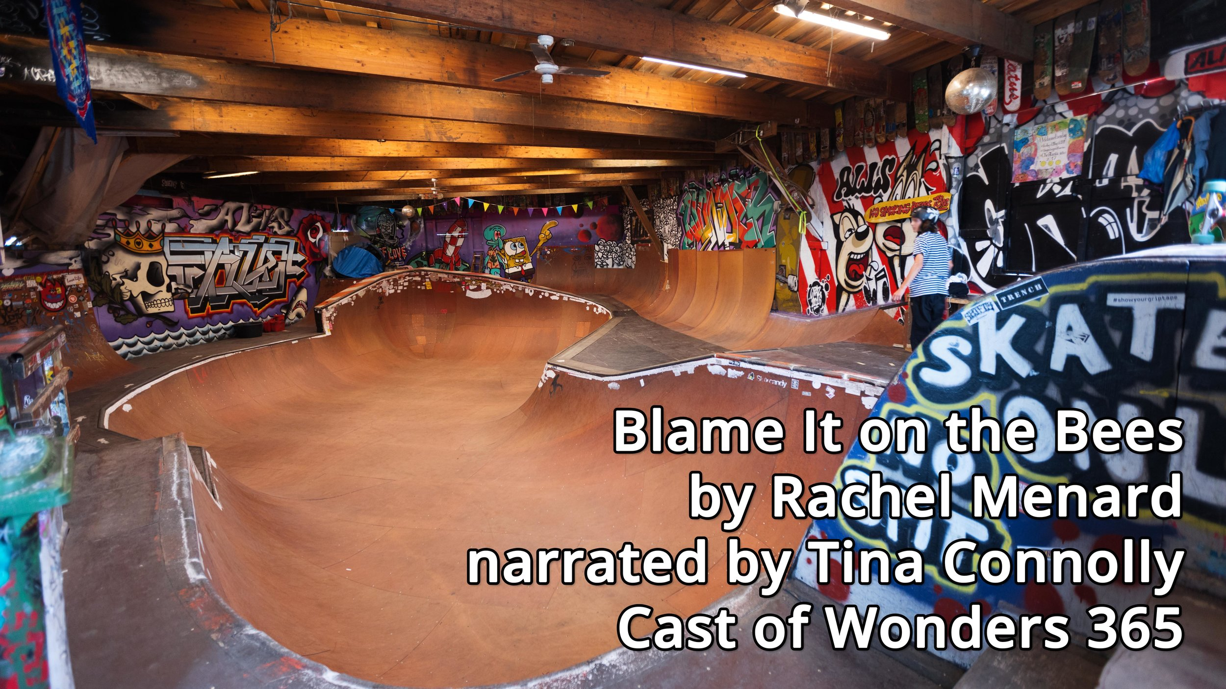 Blame it on the Bees - Cast of Wonders - Episode 365Blame it on the Bees came from a conversation about composting hair, and what might grow in a garden made with a piece of someone else. You can read or listen to it on www.castofwonders.org or download it on any podcast app.
