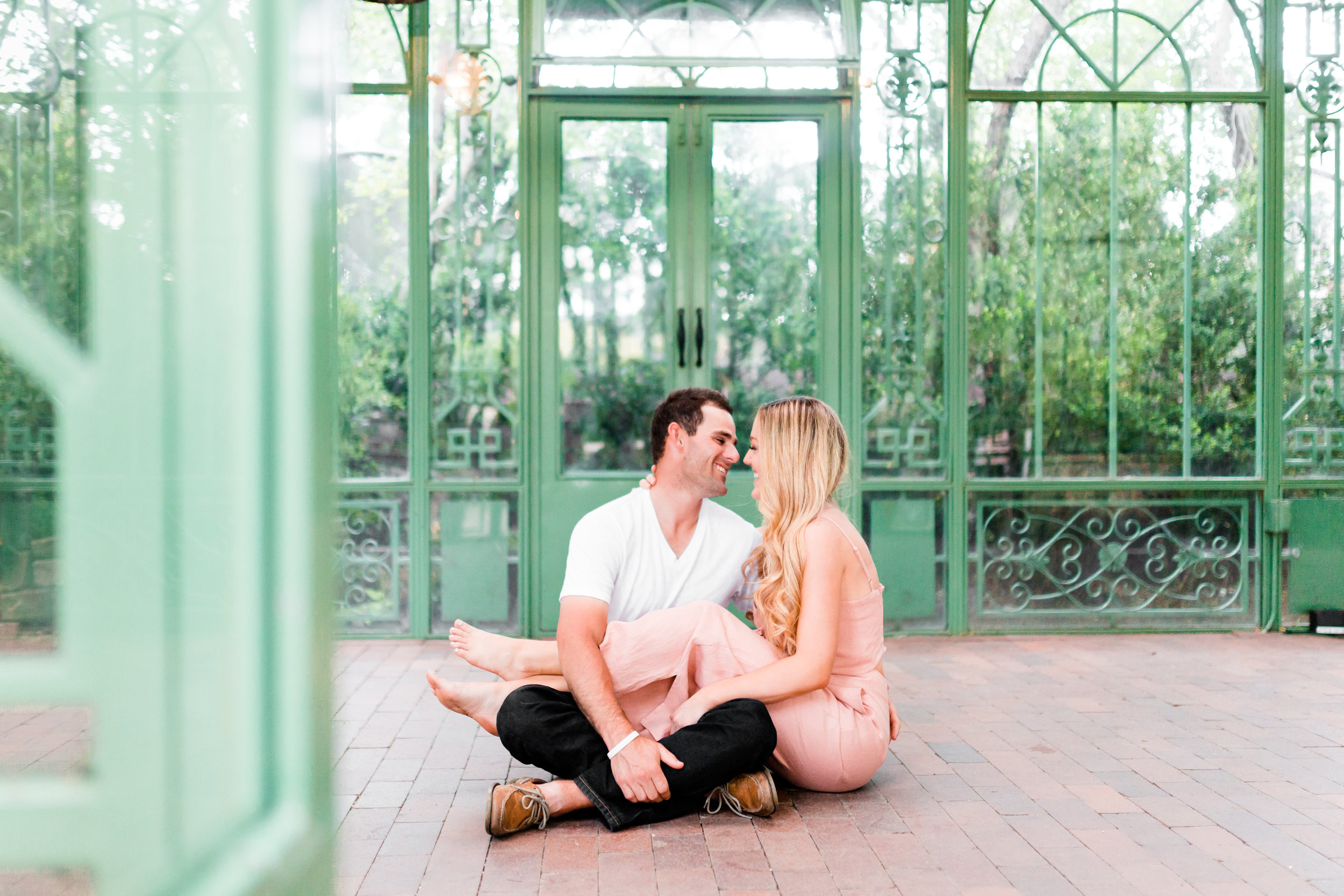 botanic gardens - shelby & dustin: engaged