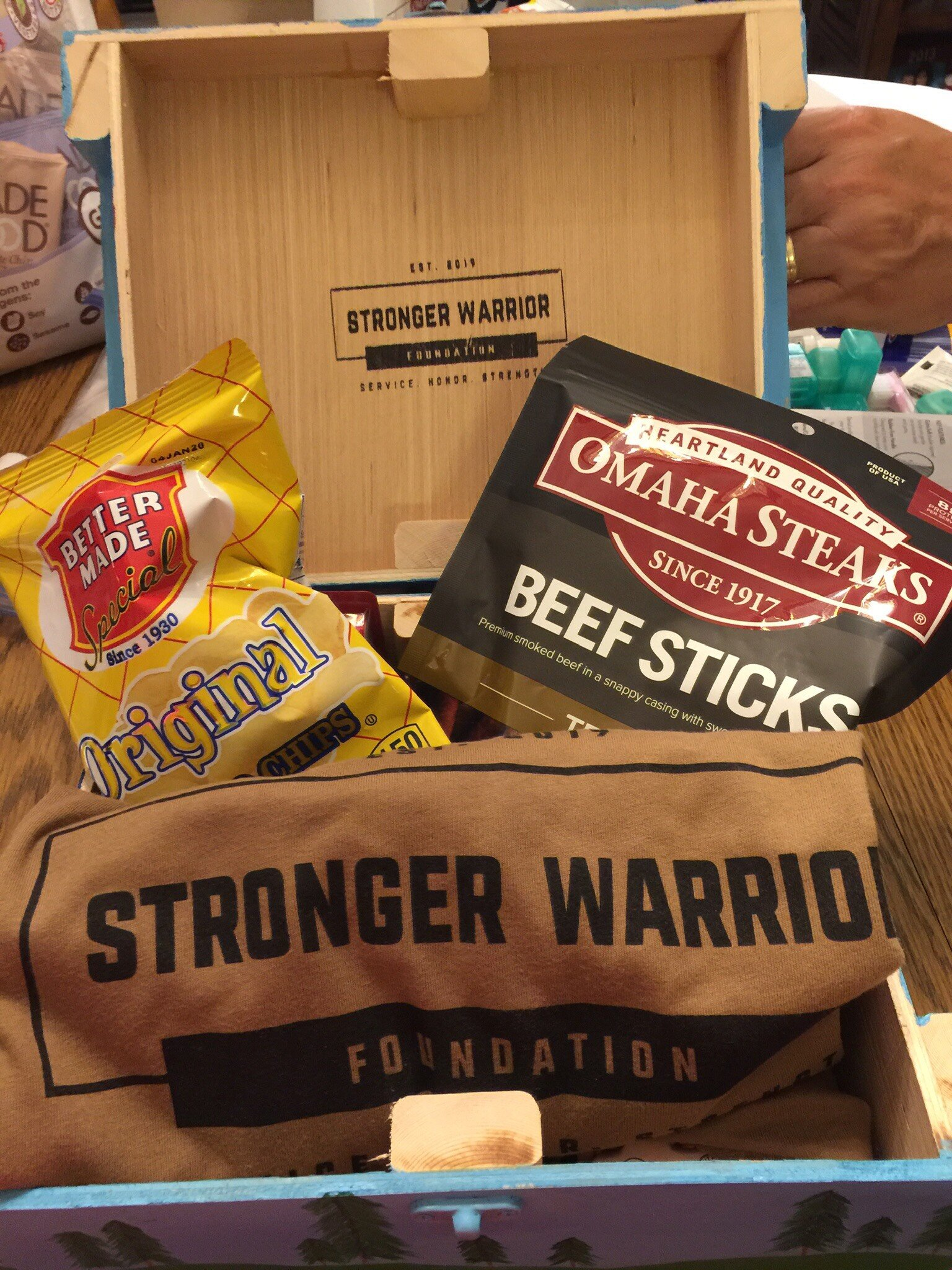 Host a Donation Drive - Help the Stronger Warrior Foundation send care packages to deployed soldiers overseas by having your organization, team, or group host a donation drive!Ready to start your drive? Just sign up at the bottom of this page and start gathering items on our donation list!