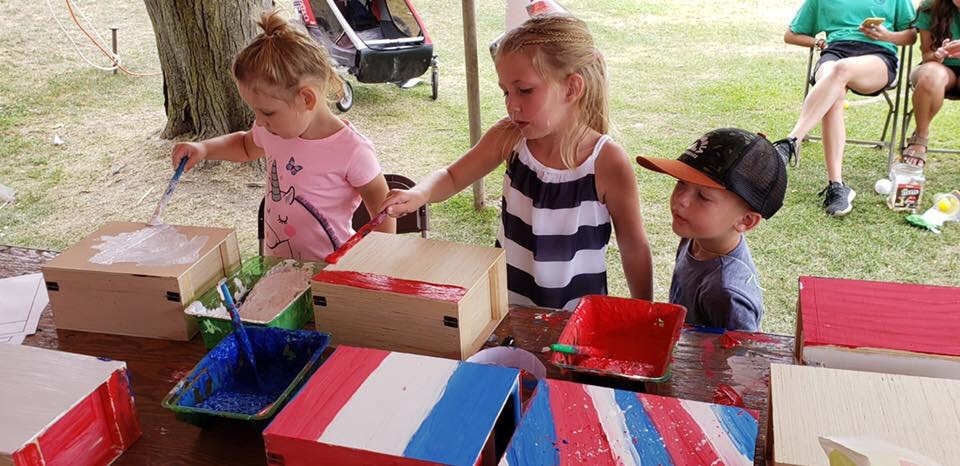 Crate Decorating Event - Help support the Sponsor a Warrior Program by decorating crates that will be paid for by a sponsor on our website!Gather your group and get ready to get creative with some awesome designs for our crates!