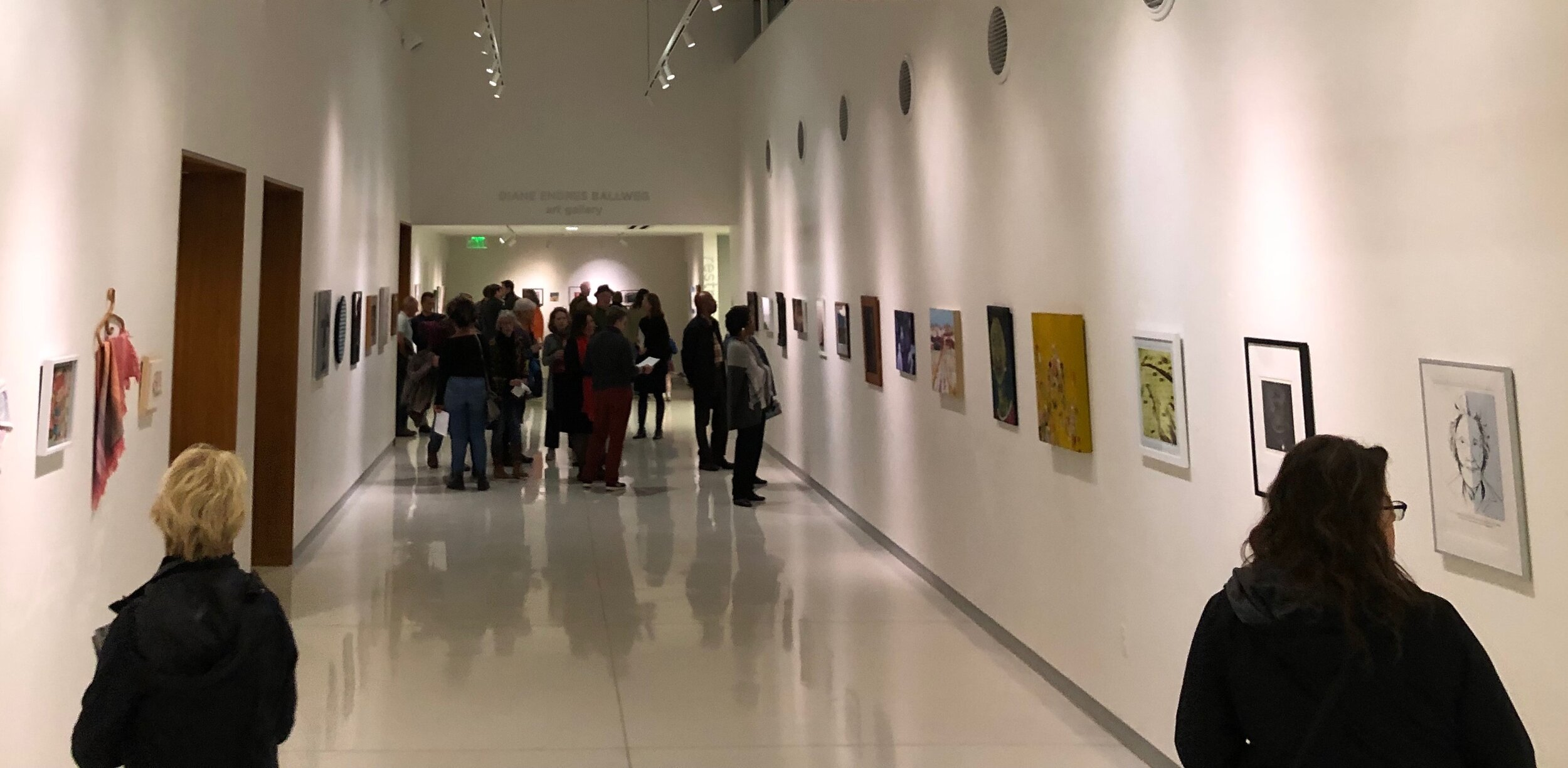 Gallery Night opening reception for  Women's Work- 2019 Forward Art Prize Applicants Exhibition,  Diane Endres Ballweg Gallery