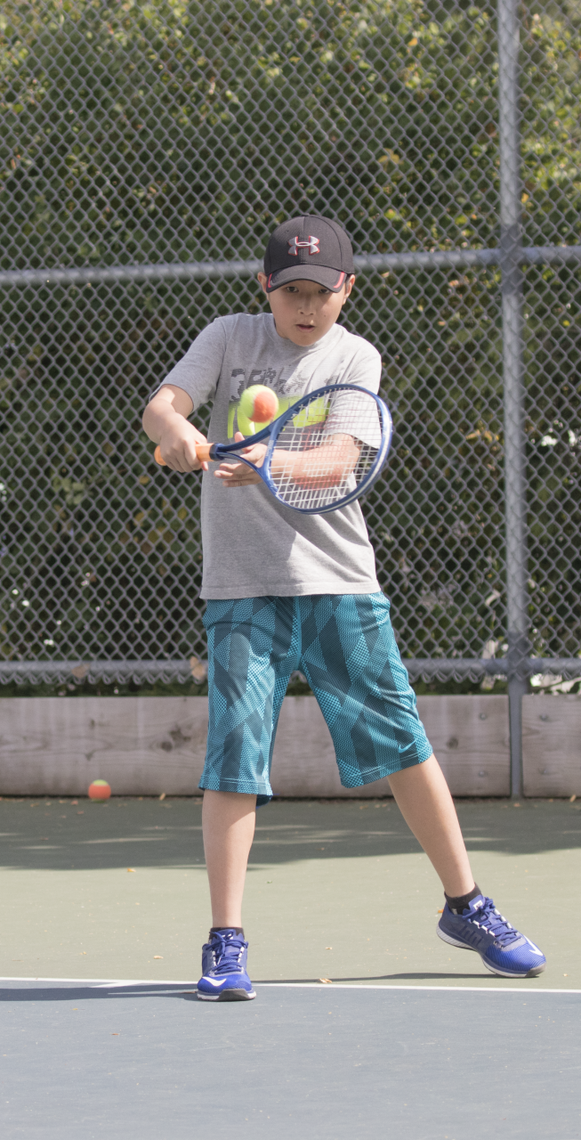 Kids' spring tennis clubs - Kid's tennis has never been easier to learn or more fun to play. The benefits of Tennis are many. Getting your children into the sport at any age helps develop physical, social and mental skills: Skills that are used on the Tennis Court and carried into real life.This program follows the Progressive Tennis Model, using appropriate nets, balls and racquets to develop fundamental skills. Players are grouped by skill level and past lesson experience. If a child in this program is capable of a higher level of play they can be moved to the Kid's Tennis Club. A Match and Skill assessment by the instructors would be required.Programs are held at different locations. Please check registration information for correct court location.