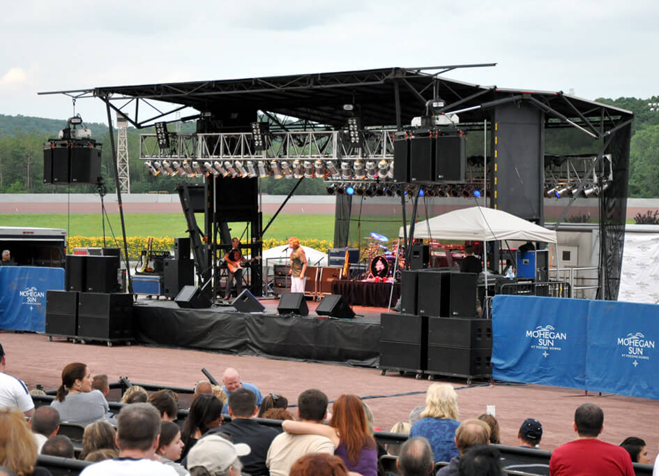 SL - 320 Mobile Stage (40' x 40')
