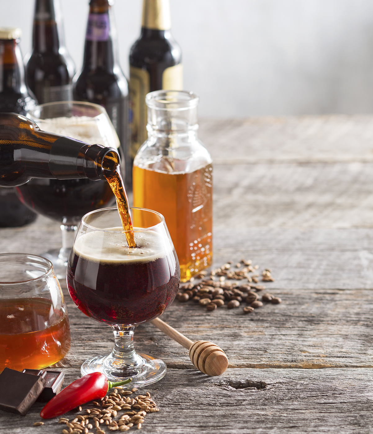 Dark Beer & Honey