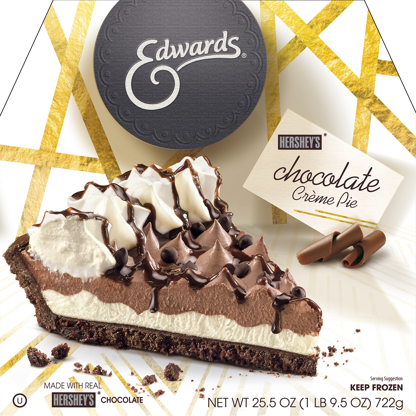 Edwards Hershey chocolate cream pie