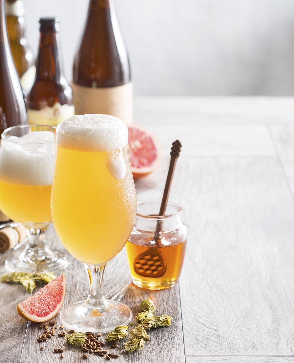 Light Beer & Honey