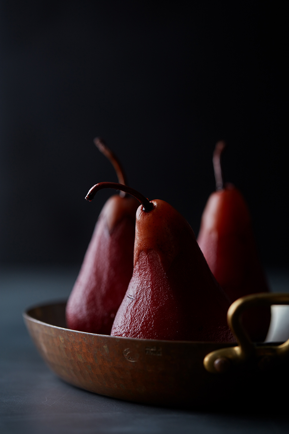 Wine Kissed Pears