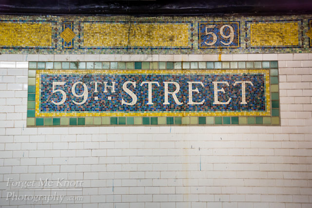 59th Street, New York city manhattan subway station