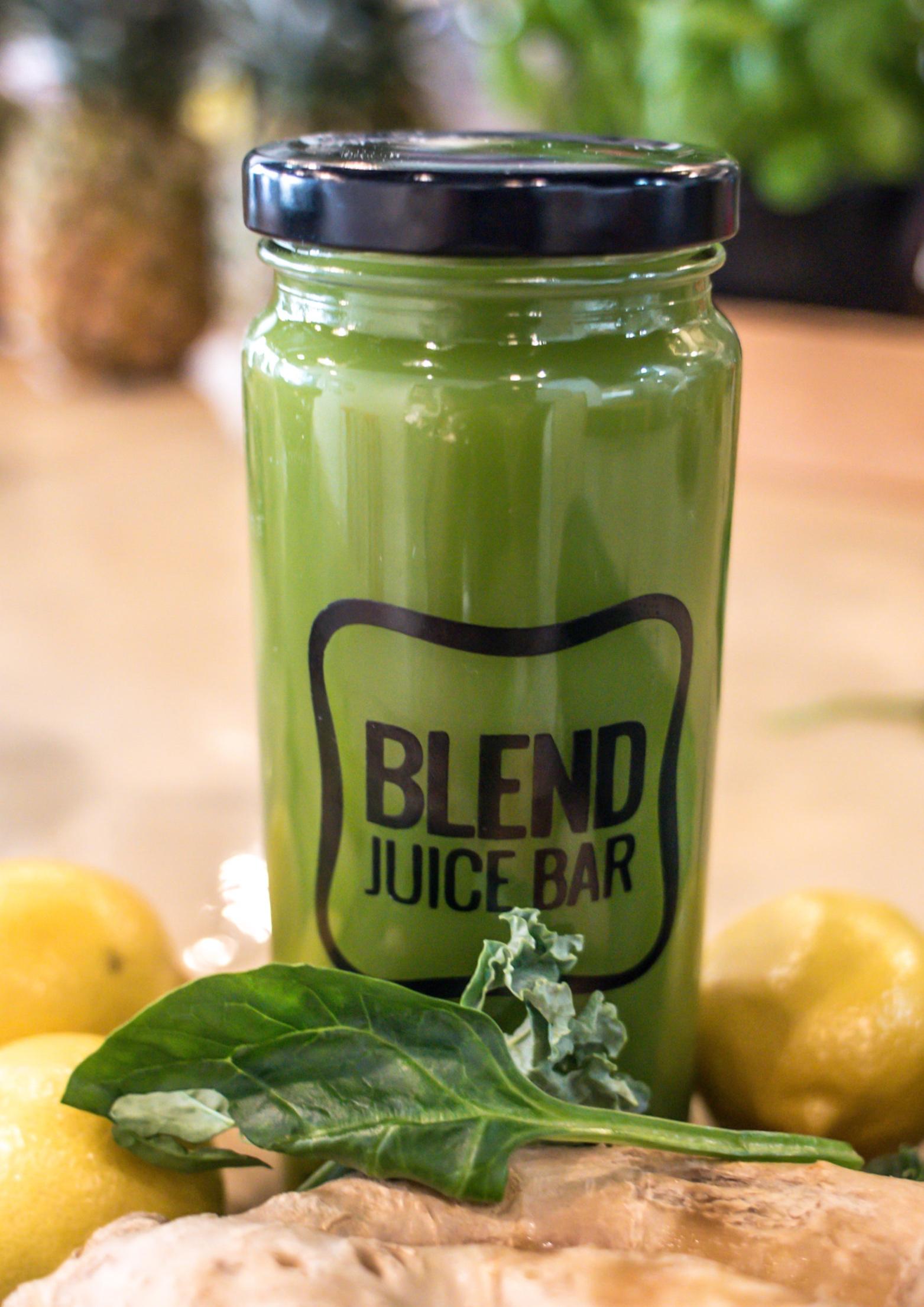 """Green Juice"" Kale, Romaine, Spinach, Cucumber, Celery, Ginger, Lemon, Apple, Parsley"