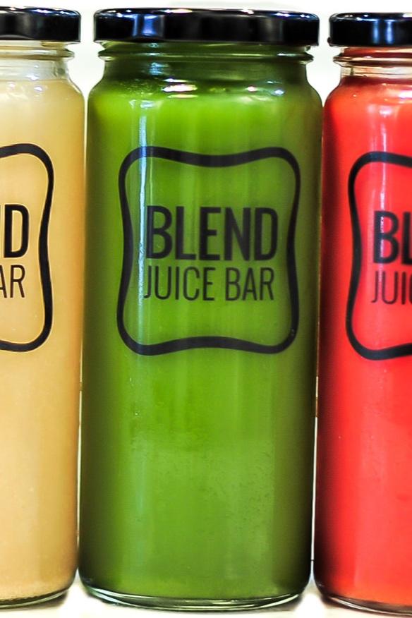 """Lean Green Juice"" Kale, Romaine, Spinach, Cucumber, Celery, Ginger, Lemon, Apple, Parsley"