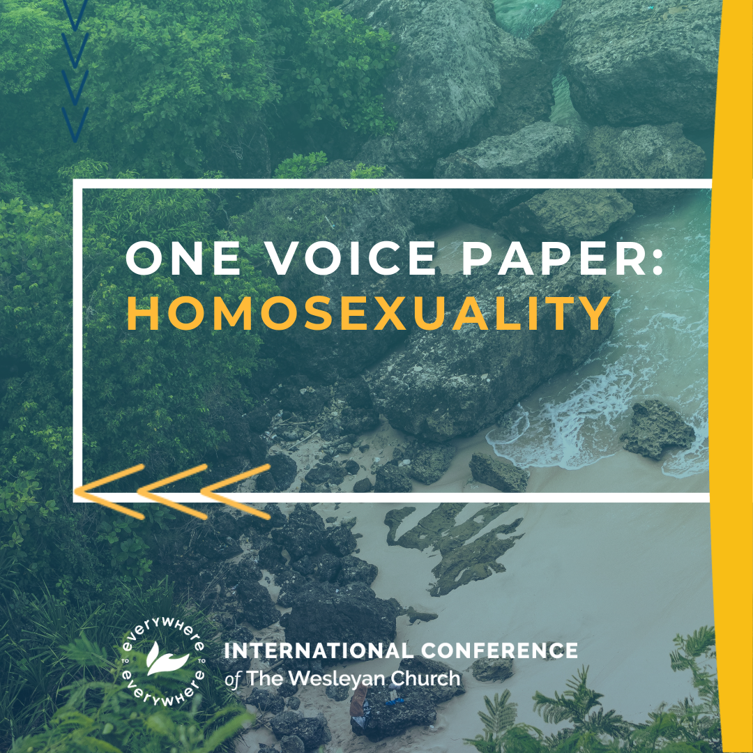 One Voice Paper: Homosexuality