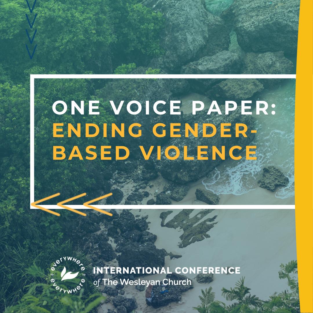 One Voice Paper: Ending Gender-Based Violence