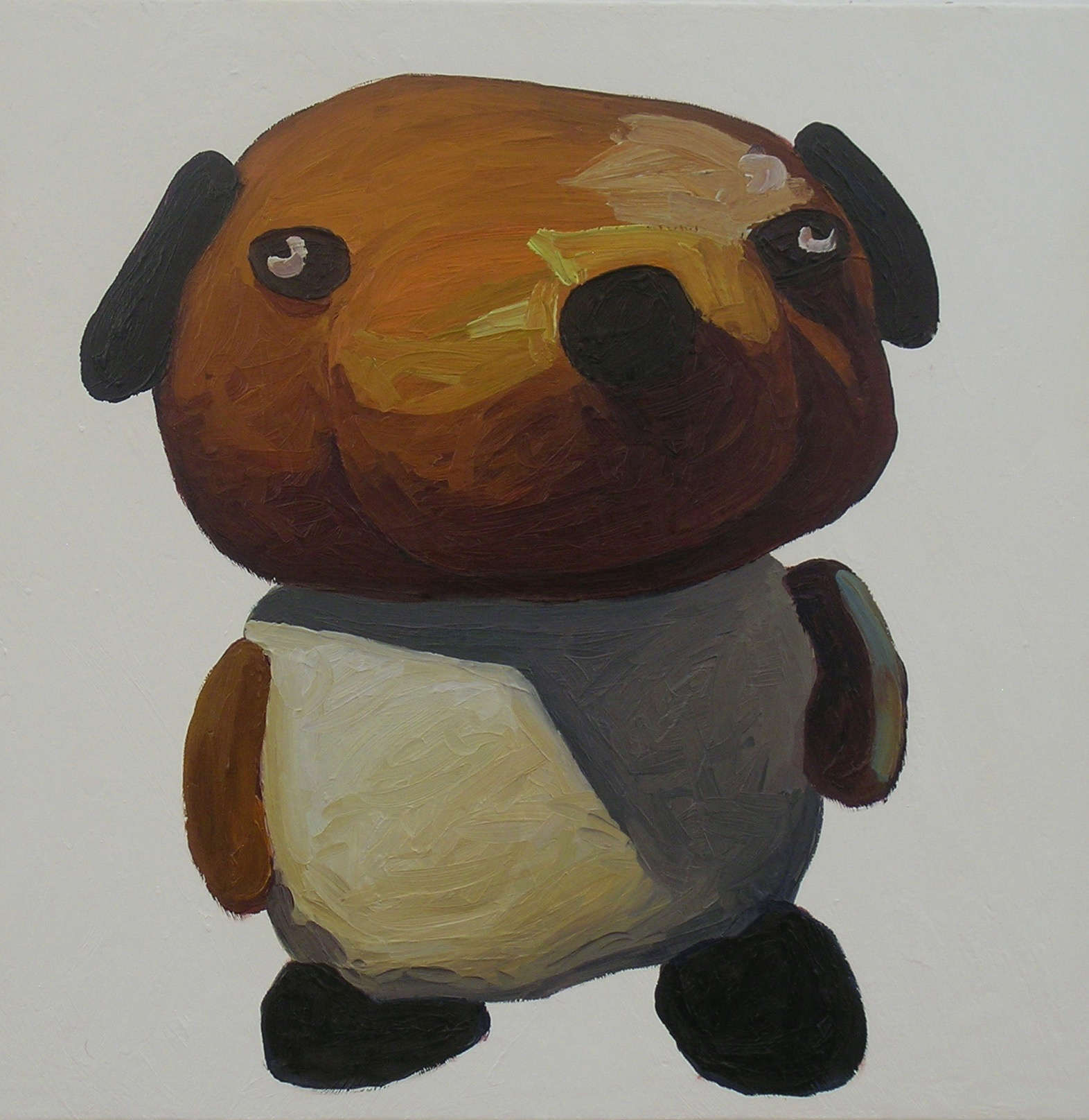 Peter Opheim   Brown Bear   2013  Oil on canvas  Signed, titled, and dated by the artist,  verso   22 x 22 inches