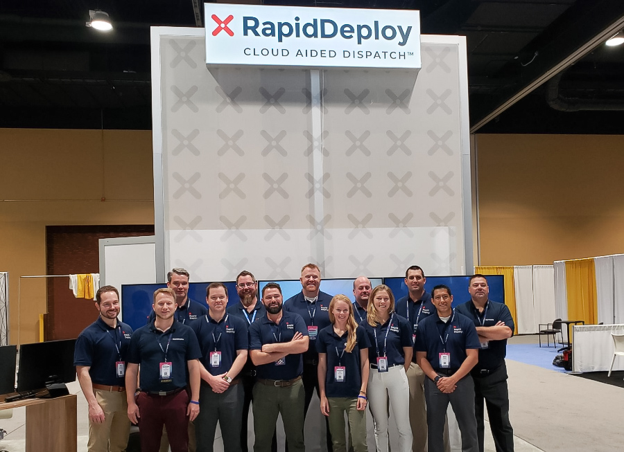 The proud RapidDeploy US team with Steve Raucher, CEO of RapidDeploy