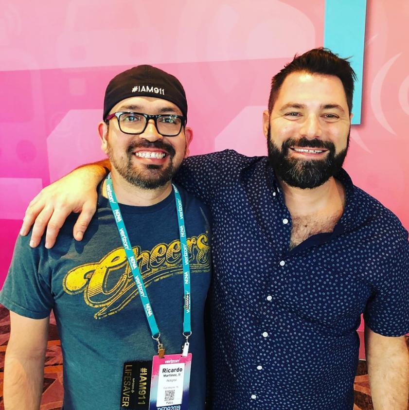 Ricardo Martinez (left) and Steven Raucher (right)
