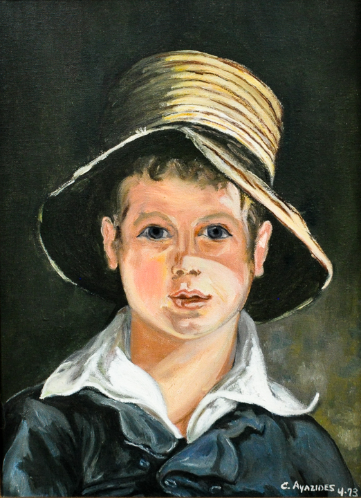 After Thomas Sully; The Torn Hat