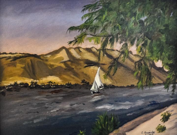 Falucca Along the Nile